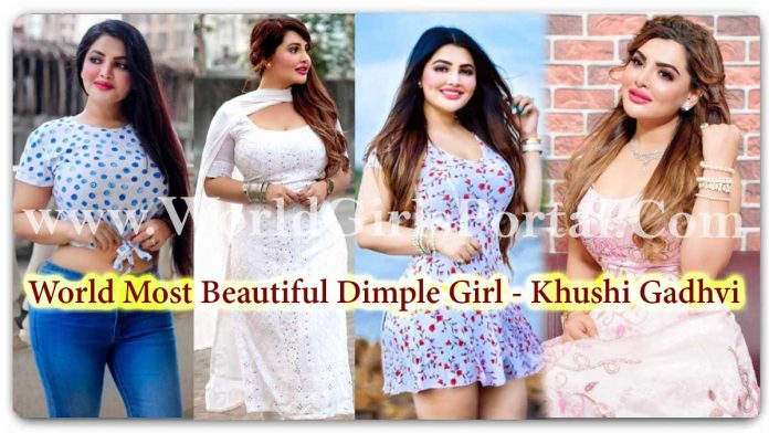 Khushi Gadhvi Punjabi Beautiful Women - Short Bio, Wiki, HD Wallpaper, Boyfriend - Indian Most Beautiful Dimple Girl - Life Style