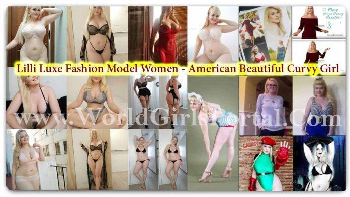 Lilli Luxe Fashion Model Women - American Beautiful Curvy Girl - HD 4K Photos Collection - Wallpaper Download Free World USA Girls Portal