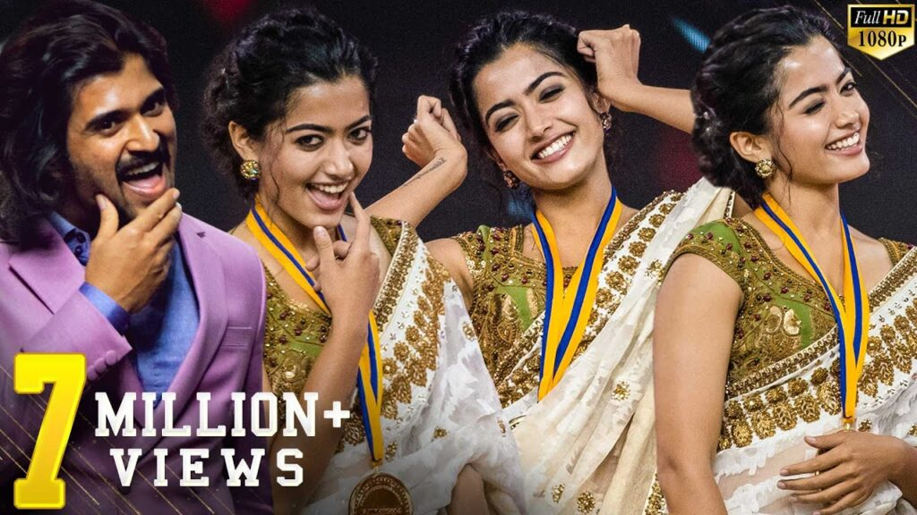 Rashmika Mandanna 2021 Movie Devadas – South Hindi Dubbed Full Movie 2020 – Nagarjuna Rashmika Vijays Yenti Yenti Live Ramp Walk 1024x576