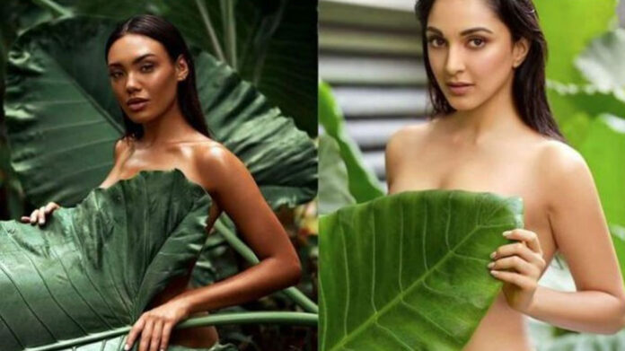 Daboo Ratanani stealing photoshoot of Kiara Advani
