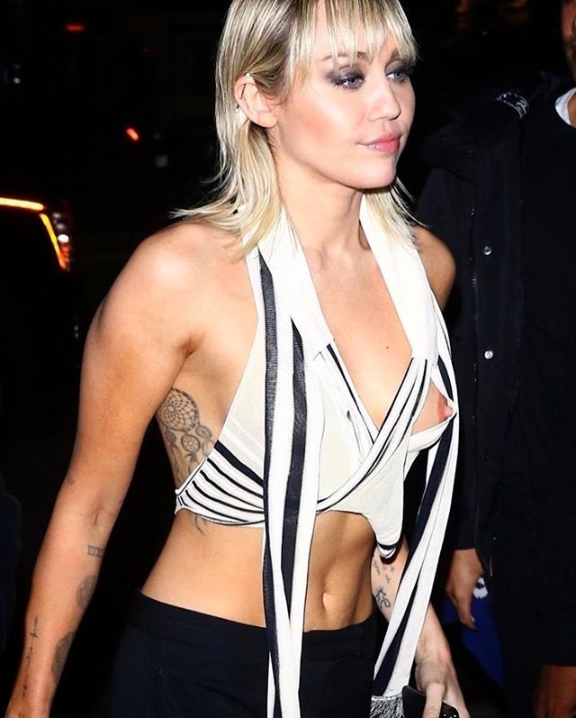 Miley Cyrus opps moment of hollywood actress  Miley Cyrus shares photos of her wardrobe malfunction Latest Hollywood News Miley Cyrus opps moment of hollywood actress