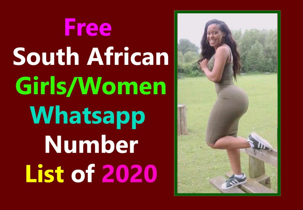 Whatsapp numbers for dating