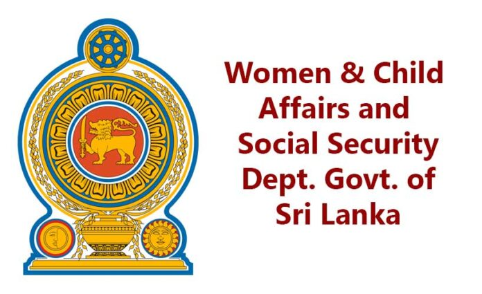 Sri Lanka Ministry of Women & Child Affairs and Social Security Dept. Govt. of Colombo | News & Updates