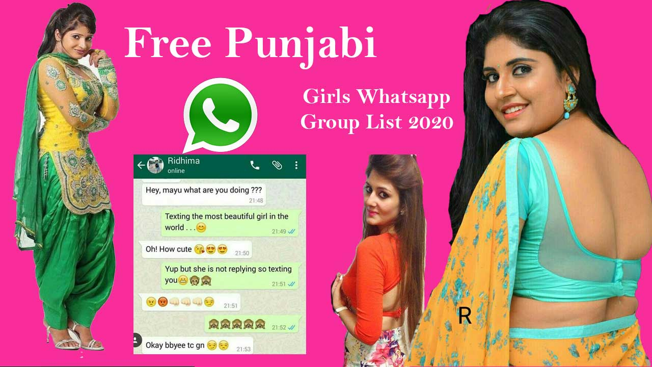Find Patiala Girls WhatsApp Numbers for Friendship, Punjabi Girls Dating Punjabi Girls Whatsapp Groups list
