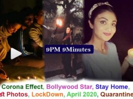 Bollywood in responding to PM call Shilpa Shetty, Alia Bhatt and Kangana Ranaut lighting up diyas at 9 pm on Sunday.