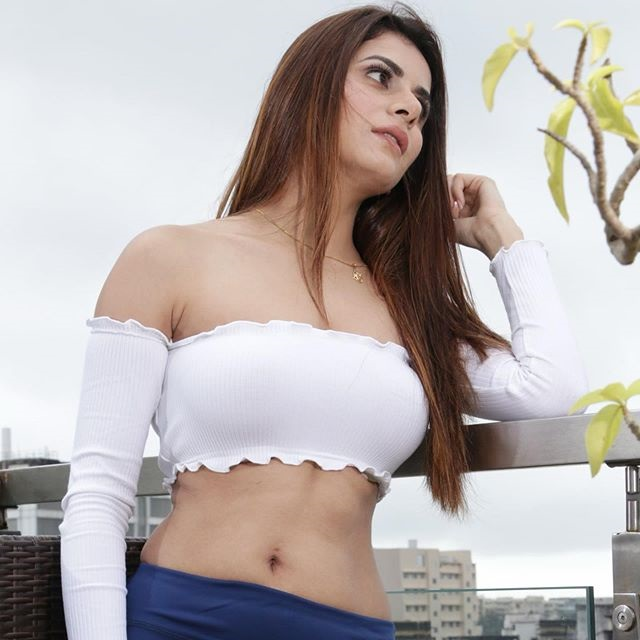 Isha Anand Sharma beautiful white top and blue scout  Isha Anand Sharma Biography, Wiki, Height, Weight, Age, Affairs, Hot Photos, Latest IGTV Video – Contact Numbers Isha Anand Sharma beautiful white top and blue scout