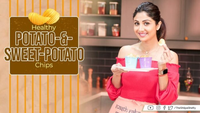 Shilpa Shetty Make Potato Chips Recipes #Corona #LockDown - Health Tips - Bollywood News IGTV