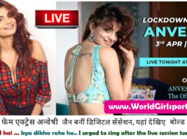 Liive to Night with Anveshi Jain April Month Official Application