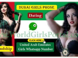 Dubai Girls Whatsapp Number Get Online Arabian Women Phone Number for Friendship World Girls Portal