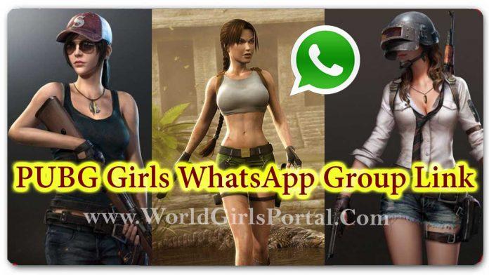 PUBG Girls WhatsApp Group Link 💃 Active Sport Girls Chat Group - World Girls Fun & Portal #PubG #TelegramGroups