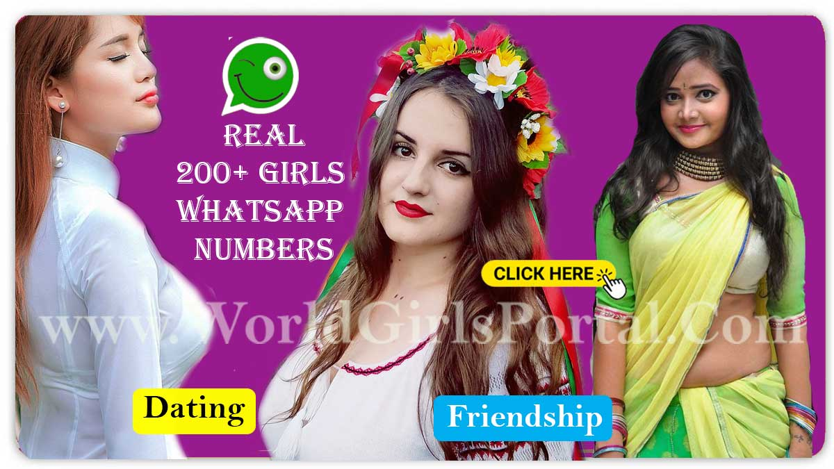 200+ Girls WhatsApp Numbers Collection For Friendship - Calling - Chatting World Girls Portal  Find Sweden Girls WhatsApp Numbers for Dating, Friendship, Chat, Groups in Europe real 200 girls whatsapp number for friendship