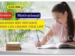 5 Reasons Why Distance Learning Can Change Your Life! Best Girls Motivational Idea