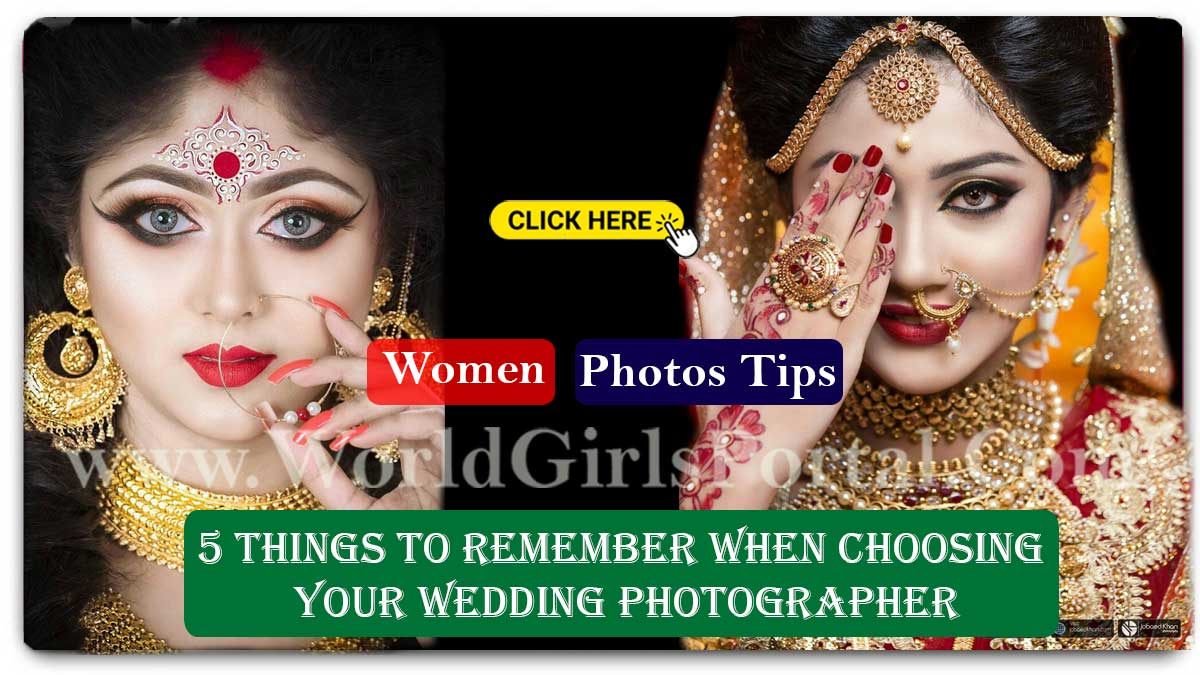 5 Things to Remember When Choosing Your Wedding Photographer - How to Overcome Fear of Wedding?   How to Overcome Fear of Wedding? Some tips for dealing with fear of marriage 5 Things to Remember When Choosing Your Wedding Photographer