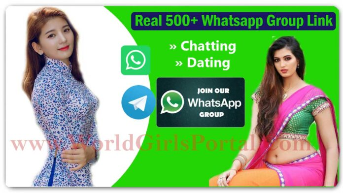 500+ Whatsapp Group Link for Friendship | World Girls Portal | Chatting