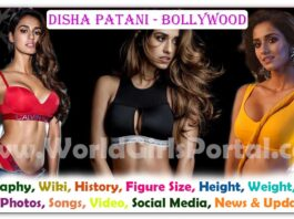 Disha Patani Biography » Wiki » WGP » News & Updates » History » Upcoming Movie-Songs 2020-21