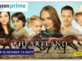 Latest Heartland Season on Amazon Prime Video! when is season 14 out?