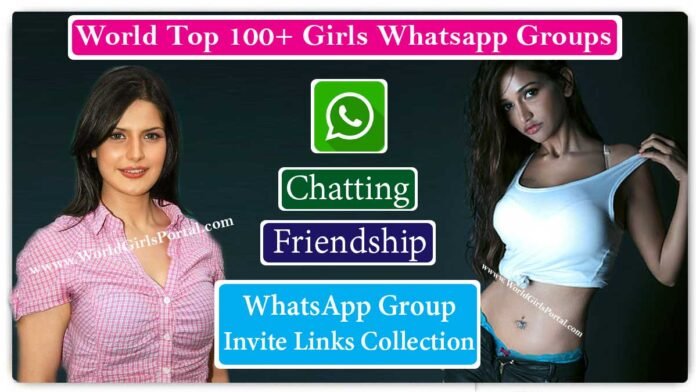 Top Girls Whatsapp Groups For Friendship and Fun 2020 » World Girls Portal » Invite Links List Collection 100+ WGP