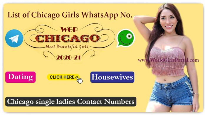 Chicago single ladies Contact Numbers 2020 - American Girls Phone no.