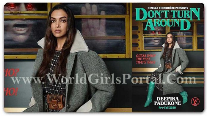 Don't Turn Around - Deepika Padukone for the #LVPreFall20 Book Club Today Live News