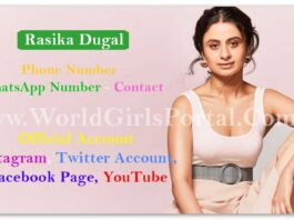 Rasika Dugal WhatsApp Number, Address, Contact, Official Social Media Acc. Bollywood Model