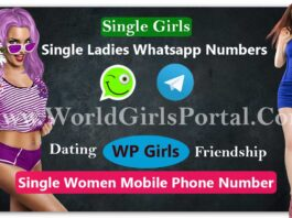 Single Ladies Whatsapp Numbers for Dating | World Wide