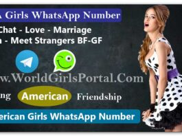 USA Girls Whatsapp Numbers List for Girlfriends | Free Online Dating Chat