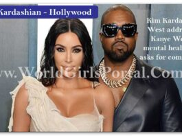 Today News of Kim Kardashian West addresses Kanye West's mental health and asks for compassion