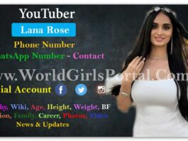 World Most Beautiful YouTuber Lana Rose [Youtuber] Real Name- Parisa Beiraghdari Biography & Lifestyle