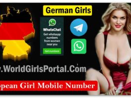 German Girls Phone Numbers for Dating, Housewives, Divorced Lady, Reach Women