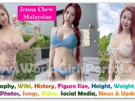 Jenna Chew Biography, Wiki, Age, BF, Photo, Contact, Info - Malaysian Model, News