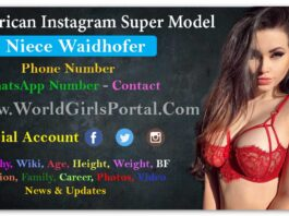 Niece Waidhofer Biography, Wiki, Age, USA Model, Photos, Video, Body Size, BF, Career, Contact