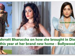 Nushrratt Bharuccha on how she brought in Diwali this year at her brand new home - Bollywood