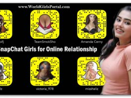 Find SnapChat Girls for Online Relationship, Dating, Chatting, Video Calling