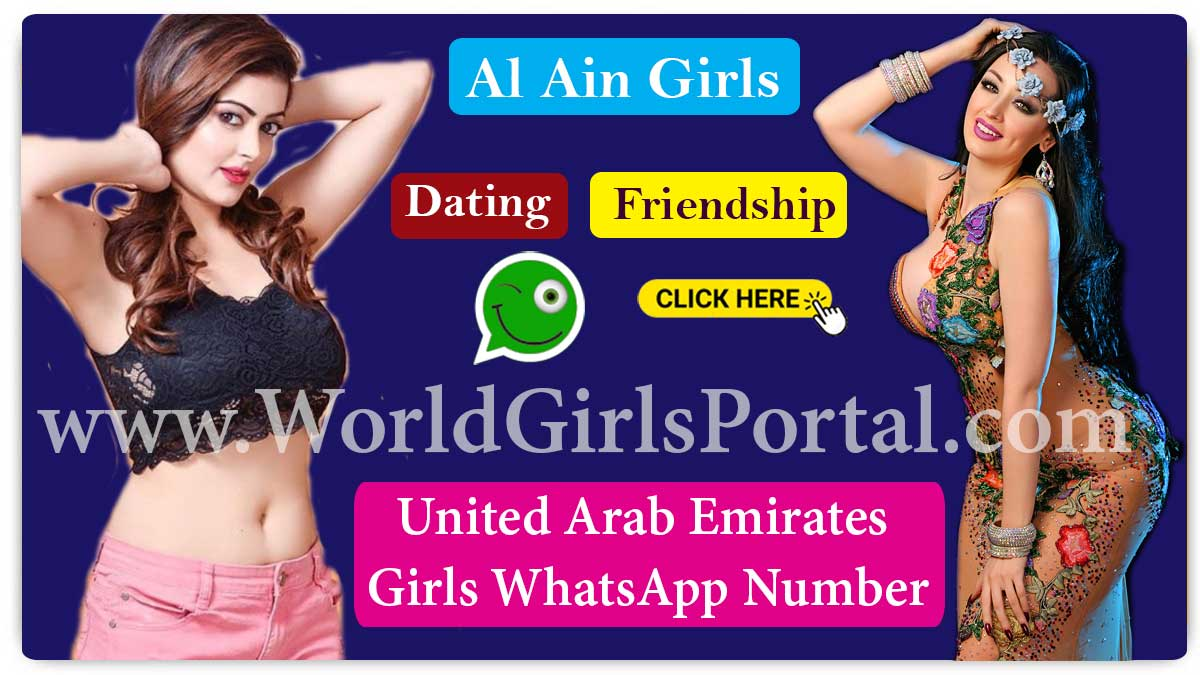Al Ain Girls WhatsApp Number for Chat Online, Friendship, Housewives, College Girls in UAE