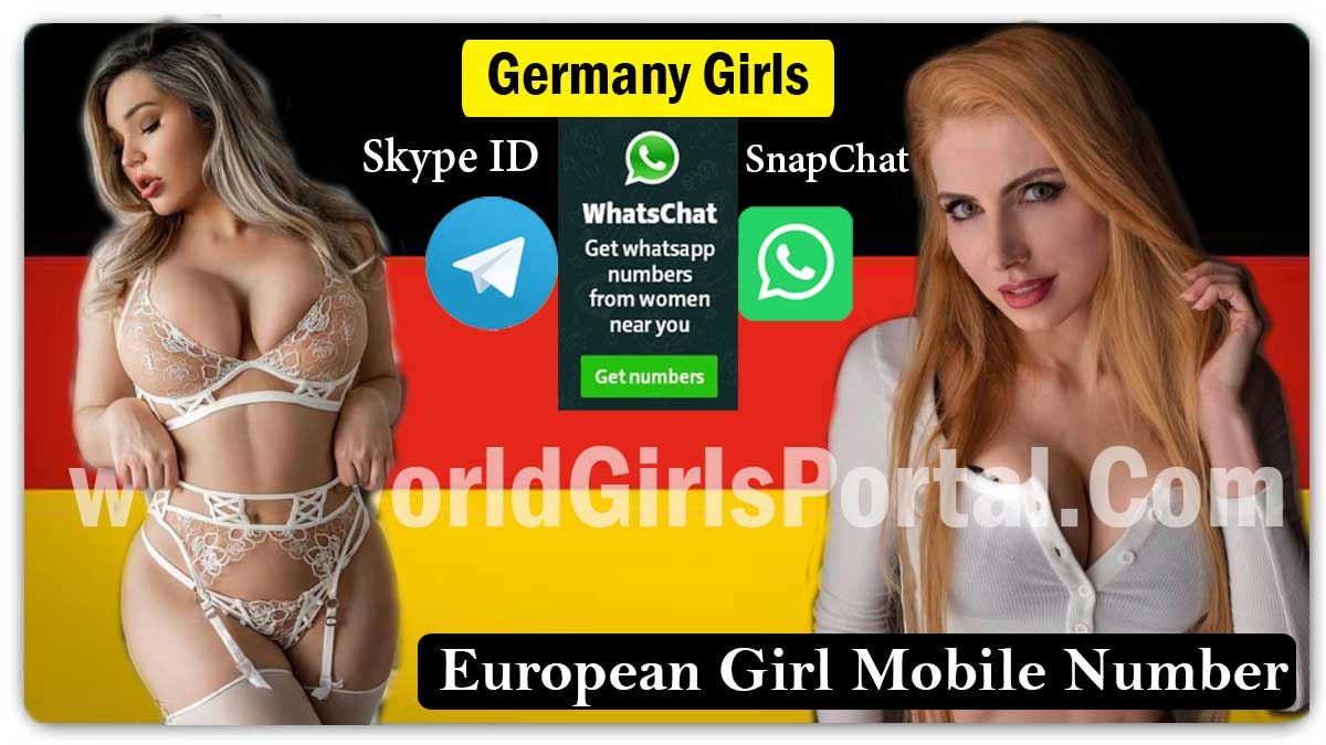 German girls Skype id, Snapchat ID & Phone Numbers for Friendship, Women seeking Men Near By You - Germany  Find Dating Places in Hanover, Beautiful Romantic Place in Germany – Meet for Girls German girls Skype id Snapchat ID