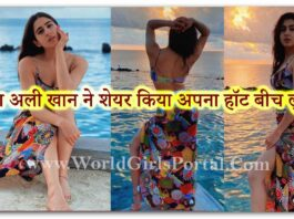 Sara Ali Khan Beautiful Look set the internet on fire with her latest Gorgeous look: Bollywood News - World Y-Portal