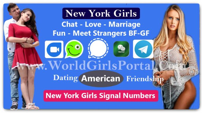 New York Girls Signal Numbers for Friendship Make a Life Partner - World Fun Club