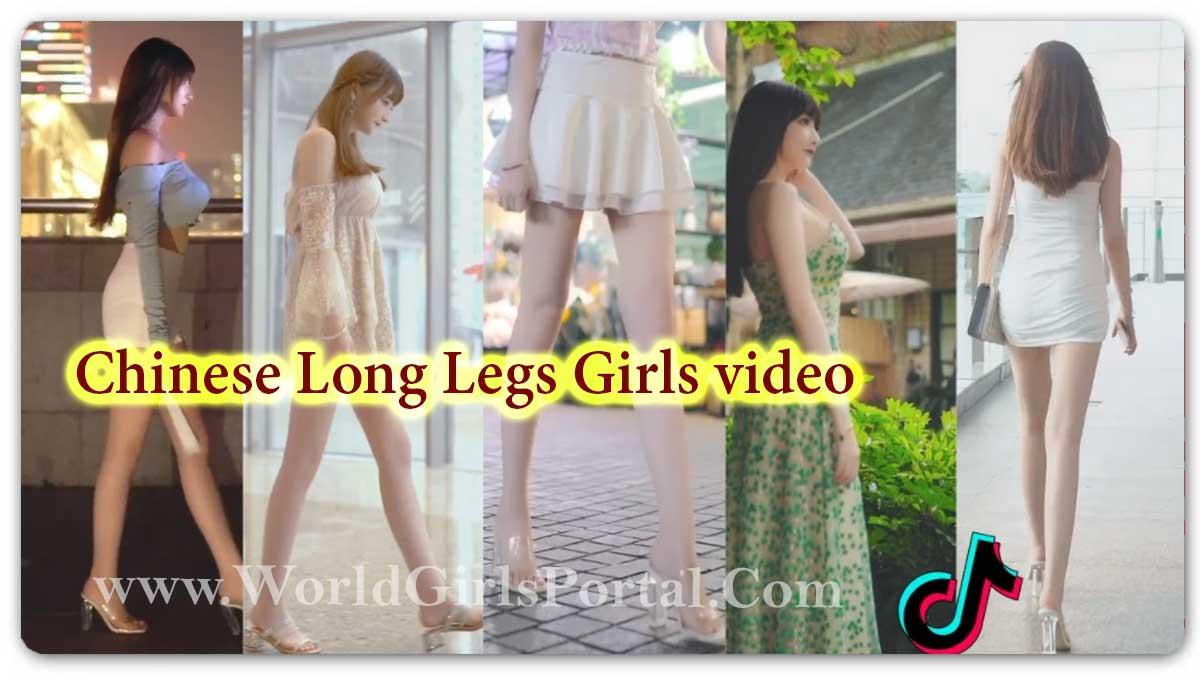 Chinese Long Legs Girls video: Tiktok Fashion 🔥 Why Do So Many Chinese Girls Have Long Legs??? 🤔😍😍 - World China Girls Portal