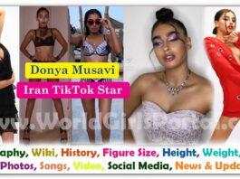 Donya Musavi Biography Contact Details for Paid Promotion Turkey Make-Up Artist Fashion Blogger Model - World Turkey Girls Portal