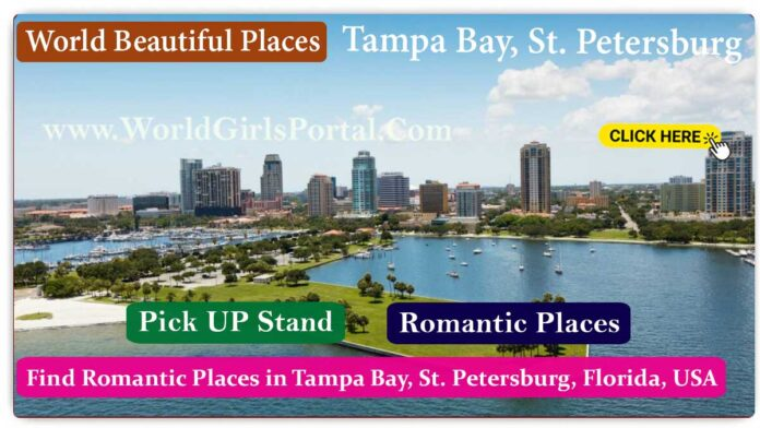Find Romantic Places in Tampa Bay for Purpose Honeymoon at St. Petersburg, Florida, USA - World Dating Places