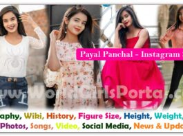 Payal Panchal Biography Wiki Contact Details Photos Video BF Career for Paid Promotion - Madhya Pradesh Instagram Star - World Girls Bio-Data Portal #indore
