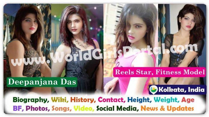 Deepanjana Das Biography Kolkata Instagram Rising Star Contact Details for Collaboration/Promotion Bengali Fitness Model Wiki Photos Career, More Details