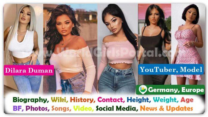 Dilara Duman Biography German YouTuber Contact Details, Wiki, Age, Video, Photos, Address, Career, More Details - World Germany Girls Portal