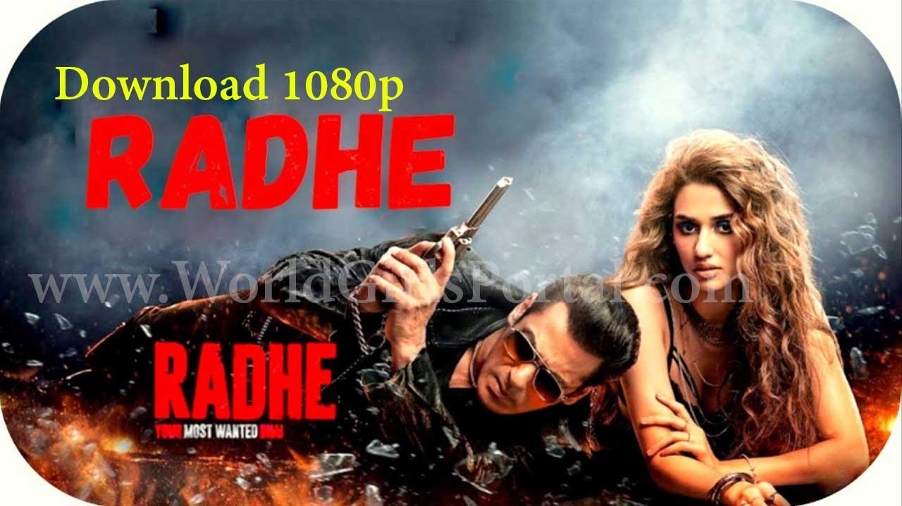 Download Radhe Full Movie HD 1080p - Radhe: Your Most Wanted Bhai - Radhe Free Online Watch 4k - Latest Salman Khan & Disha Patani Film