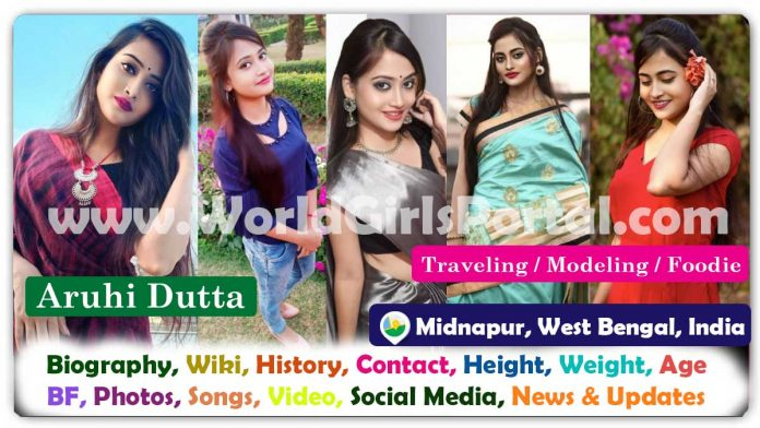 Aruhi Dutta Biography West Bengali Model Contact Details for Paid Promotions & collaboration @aruhi.1 Bengali Creator Influencer Girl India, Asia
