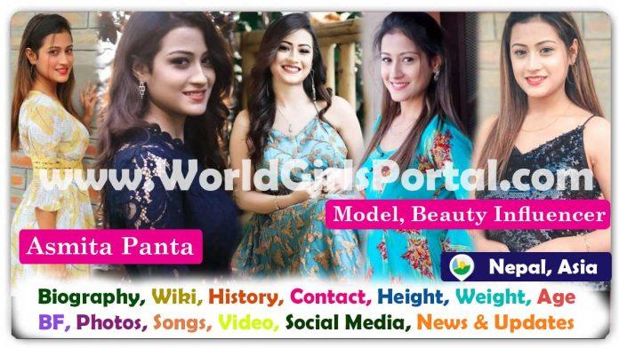 Asmita Panta Biography Nepali Model Contact Details for Paid Promotion Asian Influencer - World Nepal Girls Portal
