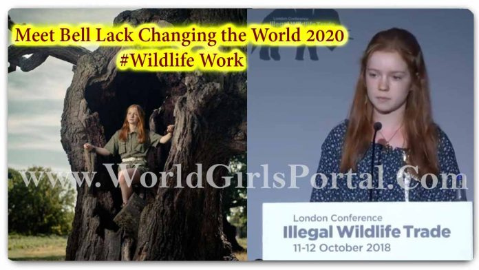Bella Lack Amazing Social Work: Protecting Endangered Species: Bella Lack, 17 - Meet PEOPLE's Girls Changing the World #Wildlife Work