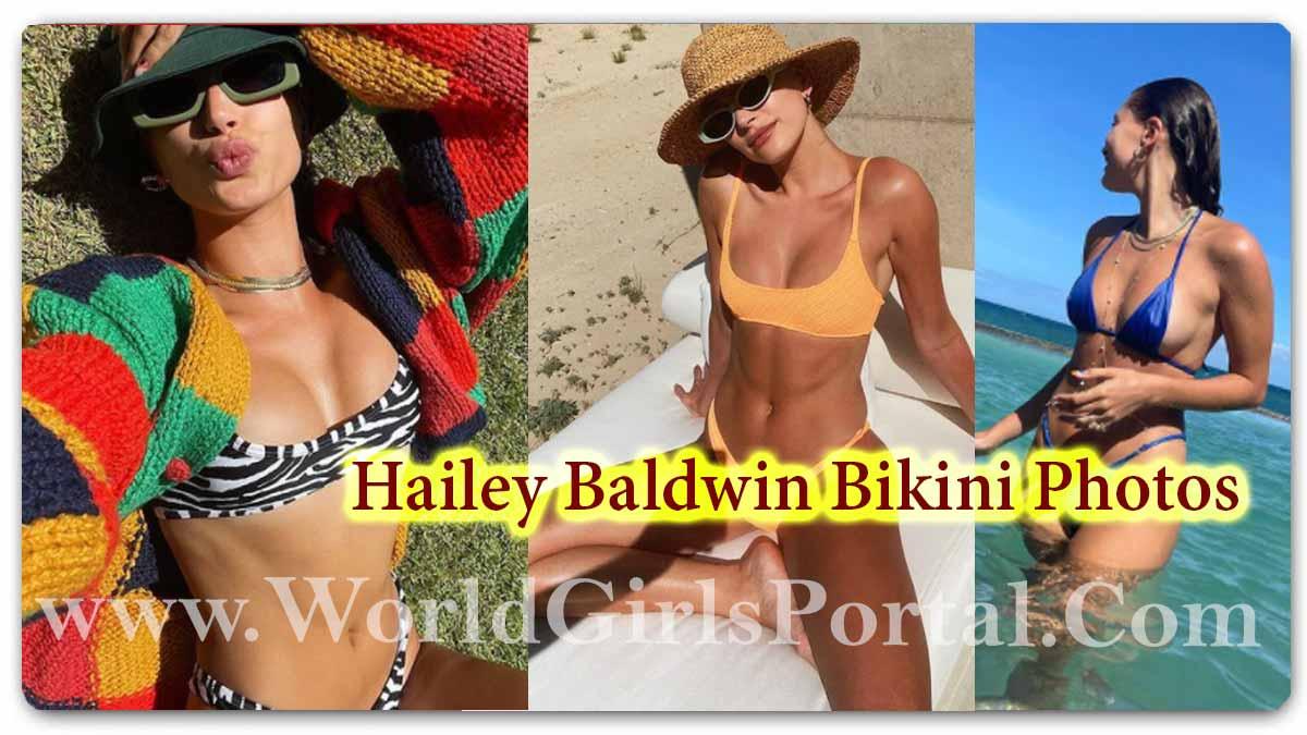 Hailey Baldwin Bikini Photos: Hollywood Actress #HaileyBaldwin Water Baby Look, Summer Adventure Pics - Glamour's Avtar