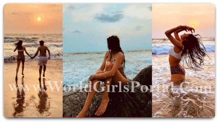 Janhvi Kapoor Bikini Photos: #JanhviKapoor White Bra and Animal Printed Panty Photoshoot Viral on Internet - Bollywood Actress News