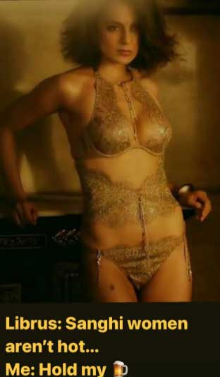 Kangana Ranaut posts bold bikinis photos to prove to 'librus' that 'Sanghi women are hot'